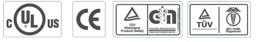 Certificados de calidad de los Scooters Libercar