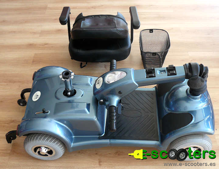 Libercar Mistral. Scooter desmontable.