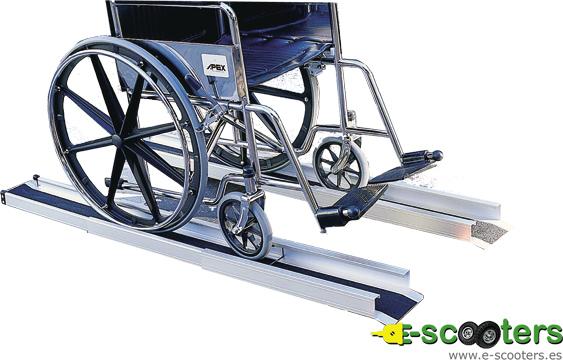 rampa telescópica Apex para sillas de ruedas