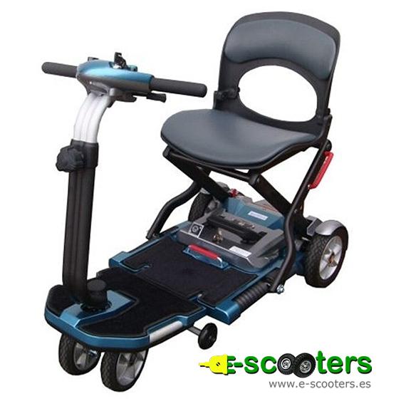 Visión superior del scooter eléctrico Apex Brio 0401037A