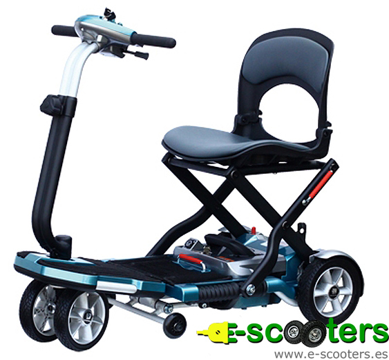 Scooter eléctrico Brio, scooter plegable