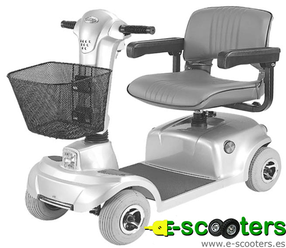 Scooter eléctrico Amigo plateado