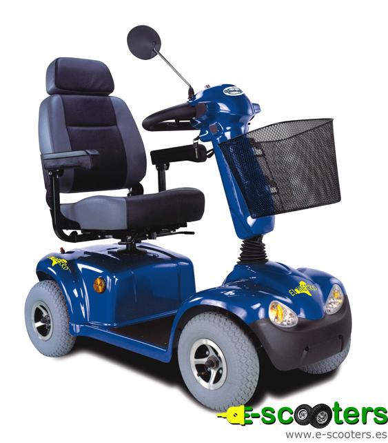 Scooter eléctrico desmontable El Hierro de Im-Guidosimplex