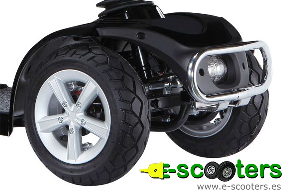Panel frontal del Scooter eléctrico Mirage
