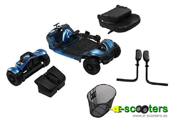 Scooter eléctrico desmontable Pixie de Apex 0401036A