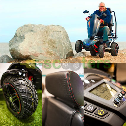 Scooter Vita, scooter eléctrico todo terreno