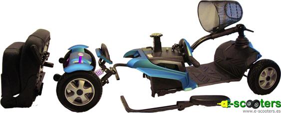 Scooter eléctrico desmontable S11 Zen
